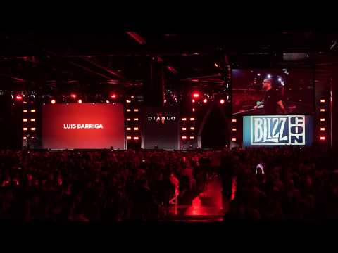 Diablo IV: By Three They Come Cinematic, BlizzCon 2019 Audience Reaction