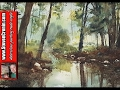 Review of my watercolour painting of Sutton Park and comparing it to the photograph