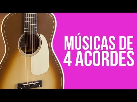 10 MÚSICAS COM 4 ACORDES | 10QualquerCoisa