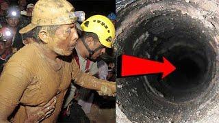 Через 17 лет после обвала шахты, под землей нашли живого шахтера!