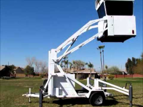 For Sale 2006 ICX Skywatch Tactical Surveillance Tower 2-Man Mobile bidadoo.com