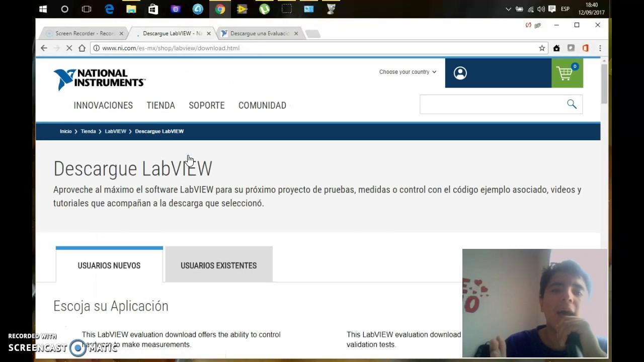 Descargar e Instalar Labview 2017 FULL 100% Windows 7/8/10 64 bits/32 bits