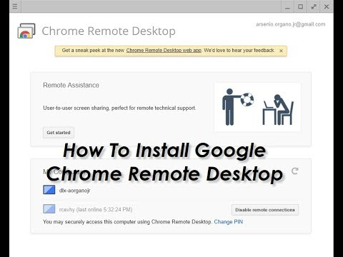 How To Access Windows 10 Computer Remotely Using Google Chrome