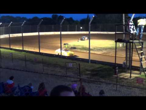 Doe Run Raceway Mini Stock Heat Josh Jarrett Memorial  8-21-15