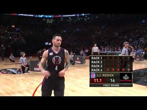 2016 Footlocker Three-Point Contest: J.J. Redick Round 1