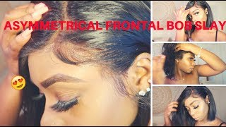 WATCH ME CUSTOMIZE AND APPLY THIS LACEFRONT WIG FT  NOBEL HAIR