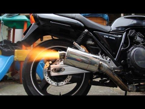 1992 Honda CB 400 Superfour Stubby ART exhaust