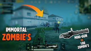 PUBG MOBILE: These Zombies are Immortal, 0.11 Beta Zombie Mode Gameplay with Chicken | gamexpro