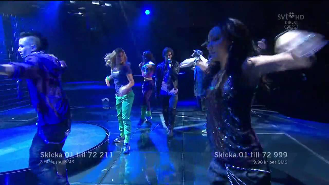 Melodifestivalen Deltävling 2: Manboy (Melodifestivalen 2010 Deltävling 2