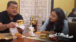 Word of Mouth: McDonald's Menu Review with Kunal Vijayakar | Gourmet Burgers