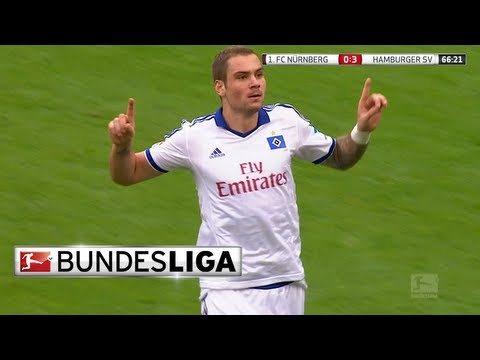 A Hat-Trick In Only 8 Minutes from Hamburg's Lasogga!