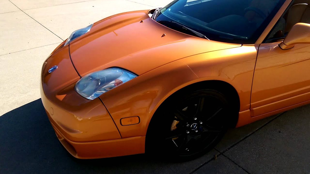 2004 acura nsx imola orange supercharged youtube. Black Bedroom Furniture Sets. Home Design Ideas
