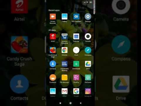 Quick Preview of Dedicated App Drawer (with Swipe Up Launch Gesture) on Xiaomi's MIUI Launcher