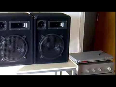 Omnitronic DX-1022 Hangfal