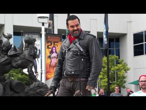 Negan Invades Blizzard Entertainment
