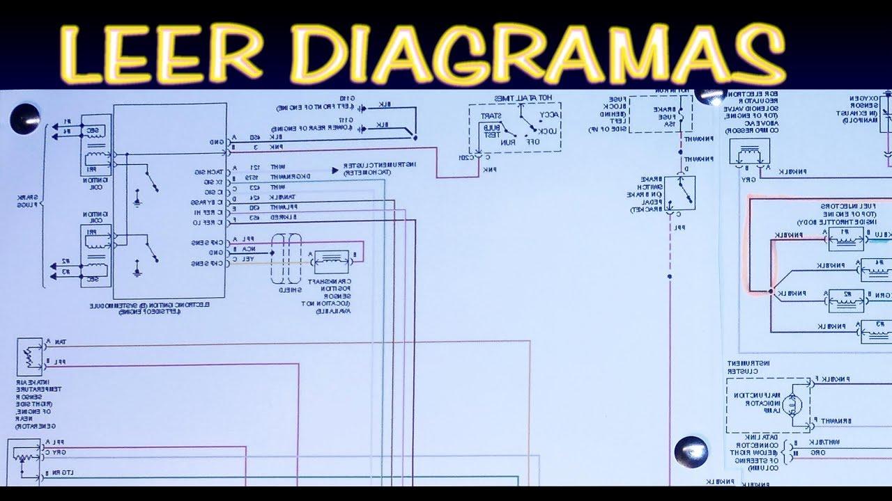 Como Leer Diagramas Electricos Automotrices  Version