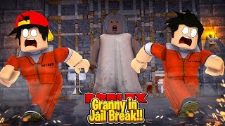 ROBLOX - GRANNY IN ROBLOX JAIL BREAK!!!