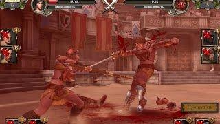 Гладиаторы  Кровь и Песок  Битва со Слейвом 18+