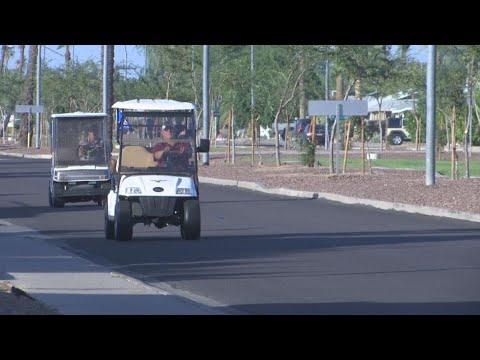 Golf Cart Drivers 'Caught Misbehaving' In Sun City