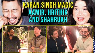 Hrithik, SRK and Aamir Khan's Minds Blown by @Karan Singh Magic  | Reaction by Jaby Koay \u0026 Achara