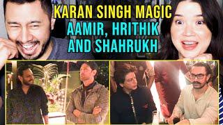 Hrithik, SRK and Aamir Khan's Minds Blown by @Karan Singh Magic  | Reaction by Jaby Koay \u0026 Achara