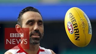 Video Why is AFL's Adam Goodes booed when he plays? BBC News download MP3, 3GP, MP4, WEBM, AVI, FLV Juli 2018