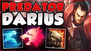 WTF? THERE IS NO ESCAPE! PREDATOR DARIUS IS SO OPPRESSIVE! DARIUS TOP GAMEPLAY! - League of Legends