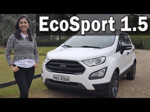 Novo Ford EcoSport 1.5 FreeStyle Automático 2018 em Detalhes