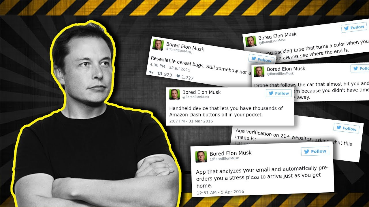 Elon Musk Reveals Some Good Invention Ideas - YouTube