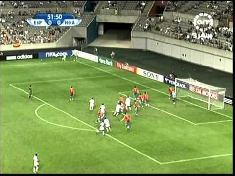 U17 2007 World Cup Final Spain v Nigeria Part 2