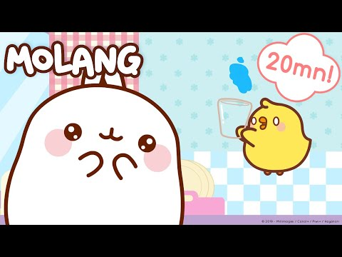 Molang - Little Helps For My Friend ! |  Cutecartoon More ⬇️ ⬇️ ⬇️