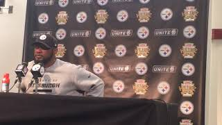 Mike Tomlin talks AFC North title, Ryan Shazier on FaceTime in the locker room