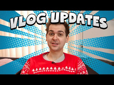 Vlog Updates! - New Channels, Christmas Jumper and More!