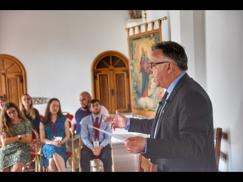 Michael Matt in Rome Addresses Youth Conference