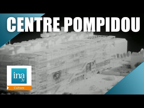 Présentation du futur Centre Pompidou en 1974 | Archive INA