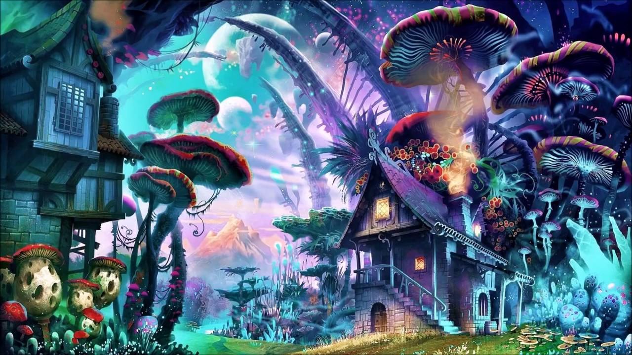 294 Best Fantasy Art 4 Images On Pinterest: PSYTRANCE MUSHROOM MIX 2017