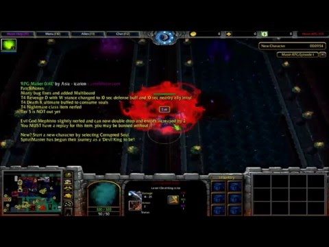 Warcraft 3 Map Masin RPG Getting Started Masin RPG 1.93E