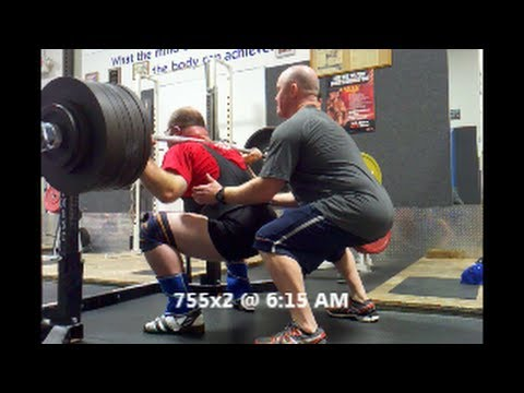 MOS 053014 Squat Training 23 Days Out Mens Open