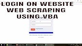 Web Scraping Data using ClassNames with VBA - YouTube