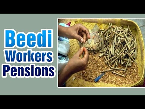 T CM KCR discusses on Beedi Workers Pensions | Express TV