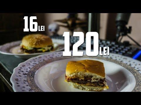 Sandwich de 16 LEI vs Sandwich de 120 DE LEI