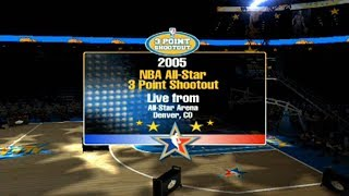 Seattle Supersonics Rebuild - ALL STAR SATURDAY NIGHT - NBA Live 2005 Dynasty ep6