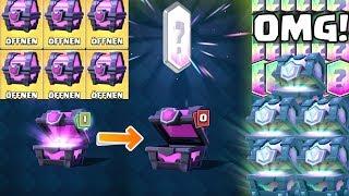 OMG! 5 LEGENDÄRE TRUHEN & 11 MAGISCHE! || Clash Royale [Deutsch German]