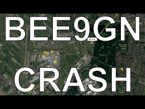 CRASH ATC SUBTITLES Audio Gear Collapse Flybe Dash 8 Runway 22 Schiphol Amsterdam