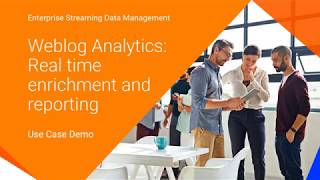 Real-time Weblog Analytics with the Informatica Streaming Solutions