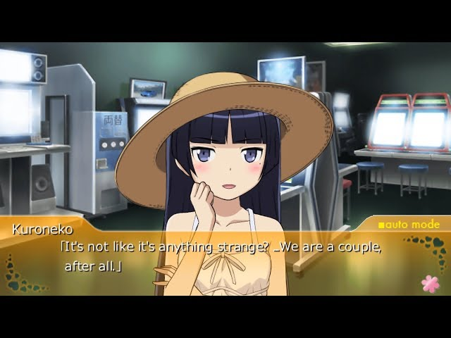 Oreimo Tsuzuku PSP Kuroneko Route Part 8 - Photo Chance [English Subtitles]