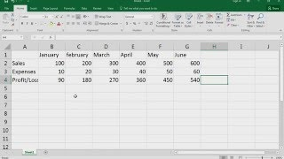 Microsoft Excel 2016 Basic Course - Basic Data Entry Rules in Excel - Video No - 10.0