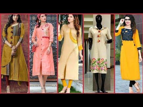 New Fashion Kurti Design Images _ Photo 2018 __ Stylish Kurti Design Picture