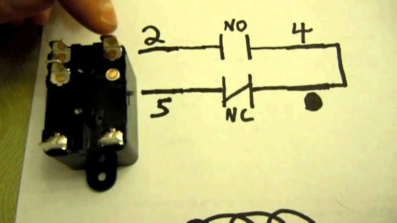 Hvac more about spst spdt and spno spnc relays youtube for Relay switch for blower motor