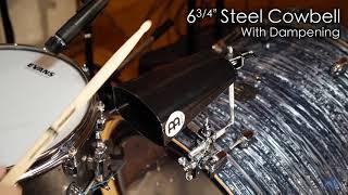 "MEINL Percussion - 6¾"" Steel Cowbell - SL675-BK"
